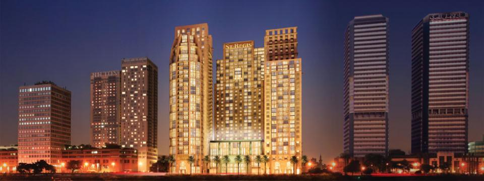 Saint-Gobain Glass Egypt is to supply, St. Regis the new icon of luxurious resid